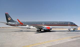 الملكية الأردنية توقع إتفاقية مع Hawker Pacific لتقديم الدعم الفني لمعدات الهبوط في طائرات الإمبرير
