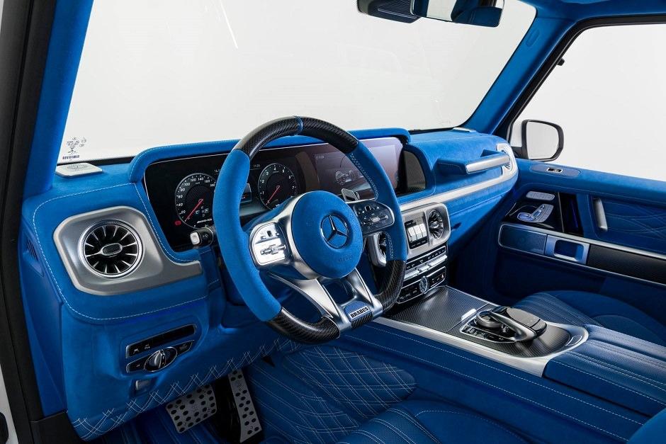 بالصور ..  شخص أنفق الكثير من المال لجعل داخلية Mercedes AMG G63 2019 تبدو هكذا
