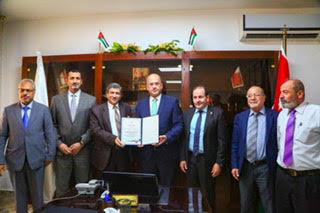 جامعة الزيتونة الأردنية تتسلم شهادة ضمان الجودة
