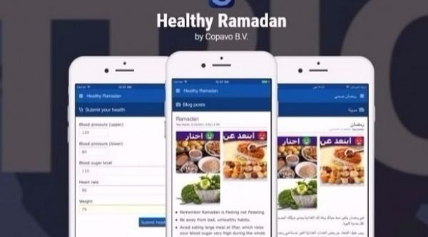 "راقب صحتك في رمضان عبر تطبيق ""رمضان صحي"""