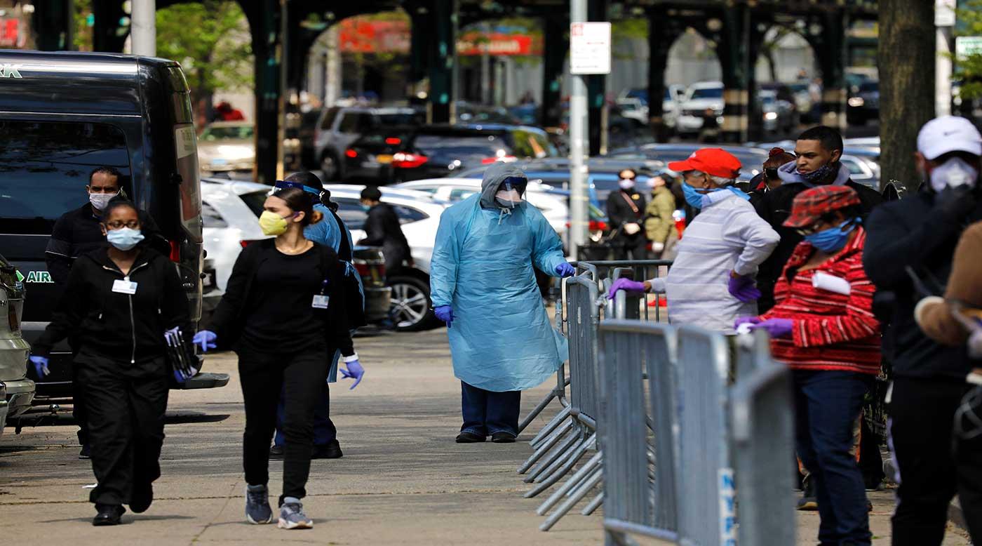 أكثر من 39 ألف إصابة جديدة بكورونا في الولايات المتحدة
