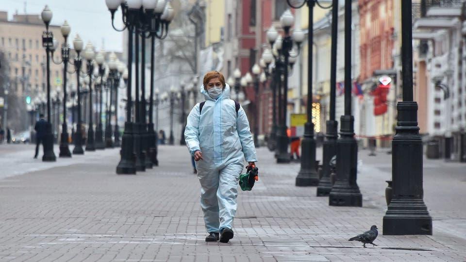 216 وفاة جديدة بكورونا في روسيا