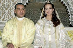 رسميا ..  ملك المغرب يطلق زوجته