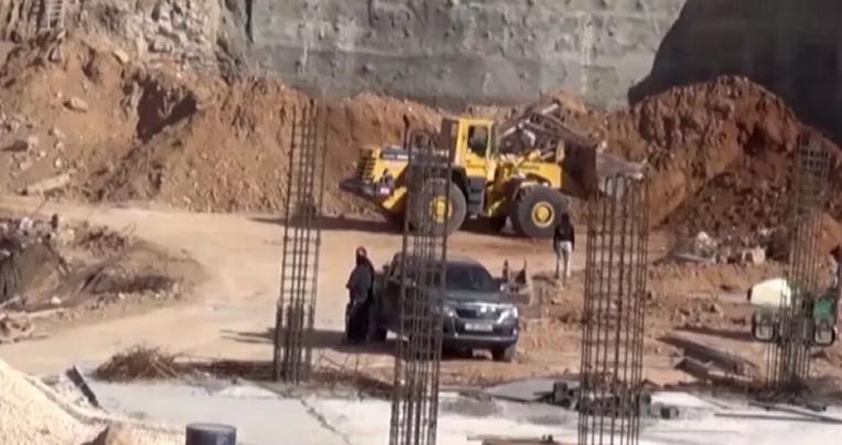 إنجاز 95% من أعمال مشروع وسط مدينة وادي موسى