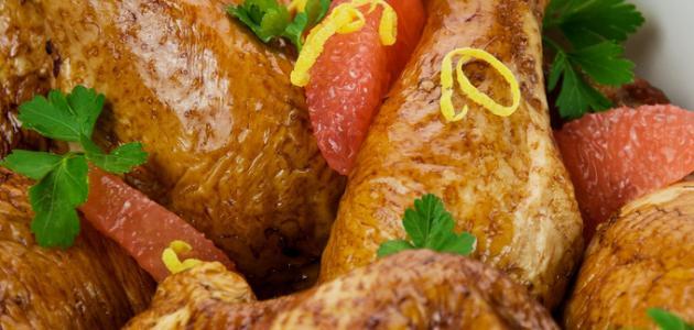 كيفية طبخ الدجاج المحمر