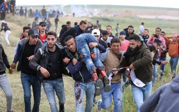 إصابات بالرصاص الحي في الجمعة الـ49 لمسيرات العودة في غزة