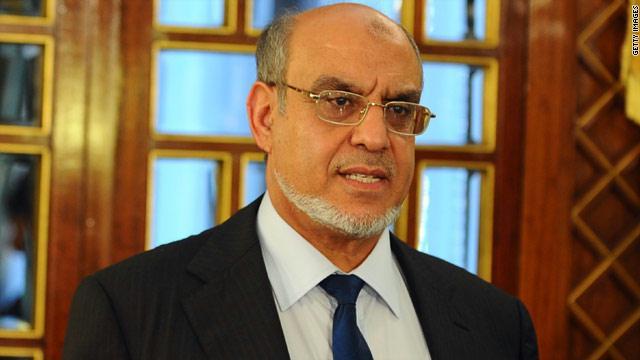 رئيس الوزراء التونسي حمادي الجبالي يستقيل من منصبه