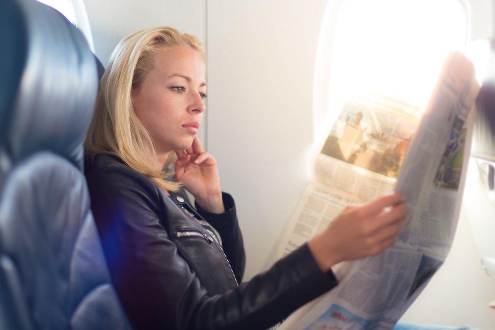 إذا كنت من هواة الرحلات والسفر اعرفي كيف تختارين المقعد الأفضل للطائرة