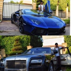 بالصور .. محمد رمضان يشتري سيارتين ب800 ألف دولار .. وأحمد حلمي وهنيدي ينتقدونه بطريقة لاذعة!