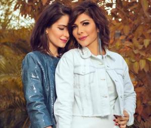 بالصور .. أجمل بنات النجوم العرب ..  بعضهن مراهقات خطفن الأضواء وفاجئن الجمهور
