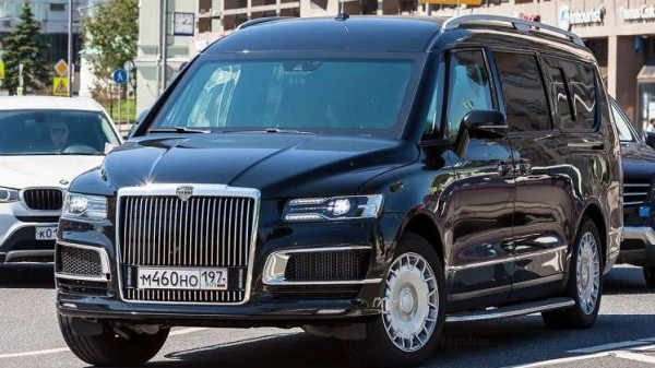"""أسطول سيارات """"كورتيج"""" الروسية يحصل على موديل جديد"""