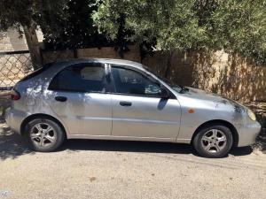 سيارة دايو لانوس موديل 1999 مستعمل بحالة جيدة جداً وعلى الفحص الكامل