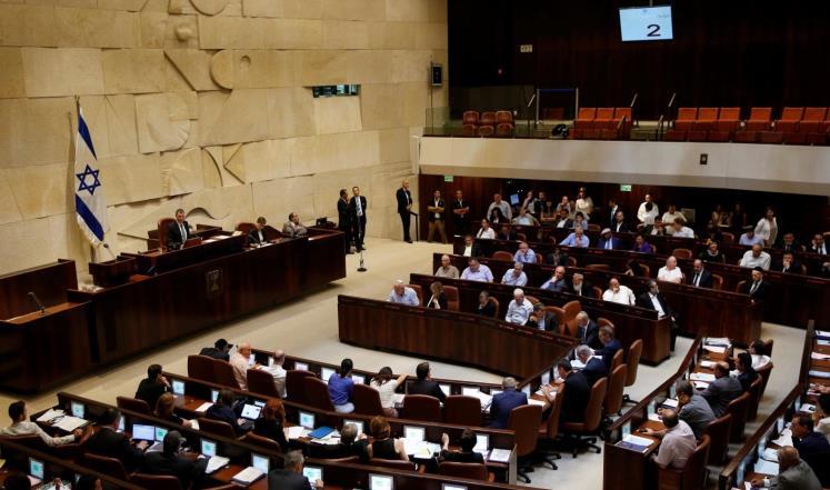 وزير الطاقة الاسرائيلي يرفض قرار اعدام الفلسطينيين وينسحب