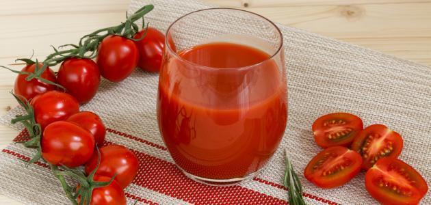 اكتشاف خاصية مفيدة لعصير الطماطم
