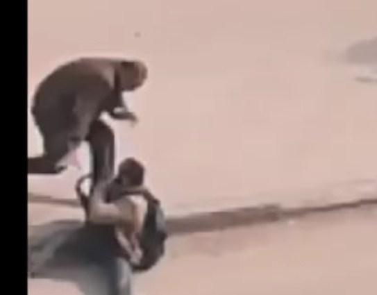 بالفيديو  ..  لحظة القبض على الارهابي الذي نفذ هجوم كنيسة حلوان في مصر
