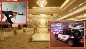 مشاجرة مسلحة بين اقارب اثناء حفلةعرس بسبب إصرار احدهم على دخول قاعة النساء