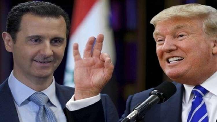 مجلة امريكية: هل يمكن لترامب أن يغتال الأسد!؟