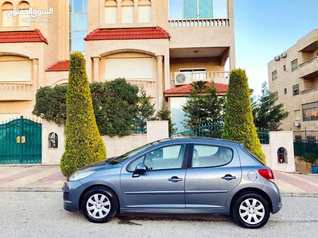 بيجو 207 اتوماتيك موديل 2011 لون فيراني فحص كامل ماتور 1600 سي