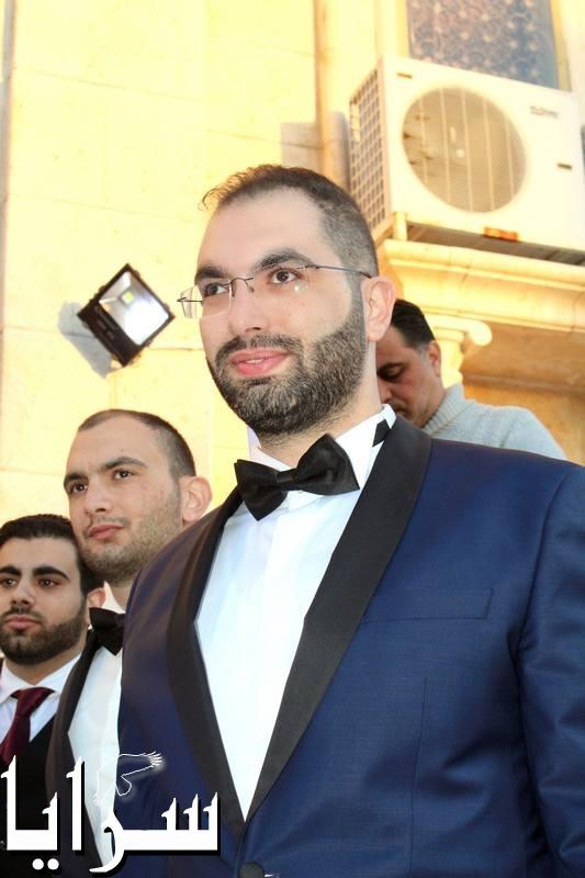 بالصور  ..  زفاف النائب قيس زيادين على رنا العلم