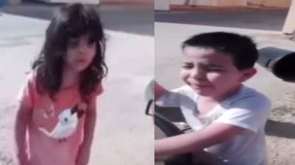 بالفيديو  ..  الطفلان وائل و جواهر يهزان مواقع التواصل  ..  ما هي الحكاية؟