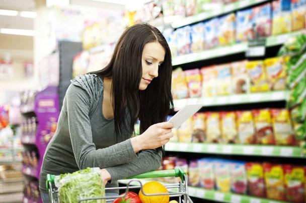 5 نصائح عند شراء منتجاتك الغذائية