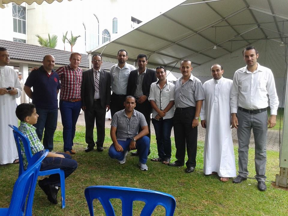 تهنئة من الجالية الأردنية في الجامعة التكنولوجية الماليزية بمناسبة عيد الأضحى