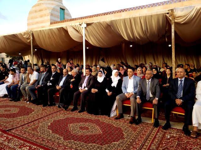 """عمان الأهلية تشارك في وقفة """"المحبة"""" على أرواح شهداء الواجب في السلط"""