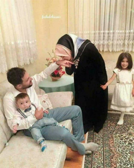 بالصور ..  امرأة تركية تشعل فيس بوك بأناقتها وترتيب منزلها
