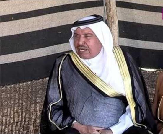 الشيخ برجس الحديد قامة عشائرية كبيرة ..  ووطني مخلص
