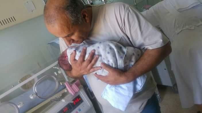 عدنان القرالة مبارك المولود الجديد