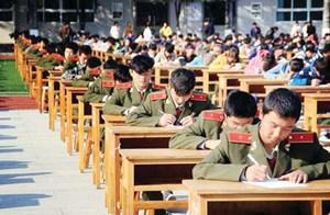 لمنع الغش : الصين تمتحن طلابها في ملعب رياضي وتستخدم 80 تلسكوباً