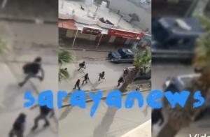 بالفيديو والصور ..  تجدد اعمال الشغب في الصريح عقب وفاة أحد المصابين بمشاجرة مسلحة