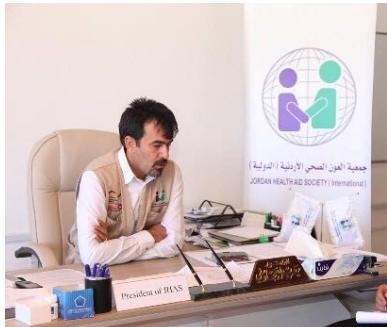 """الدكتور يعرب عثمان العجلوني """"قيادي متميز وصانع امل"""""""