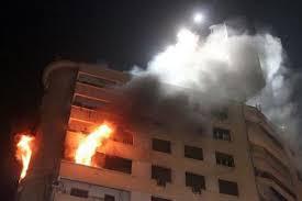 خلدا : اخلاء 30 طفل من حضانة بسبب حريق اندلع في منزل مجاور لها