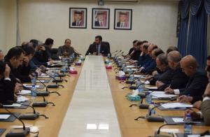 بالصور  .. اللجنة الإدارية النيابية تناقش خطط الجامعة في تنمية المهارات