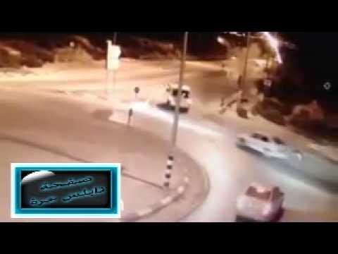 بالفيديو ..  لحظة استشهاد الشاب جمال الدين عودة على حاجز زعترة