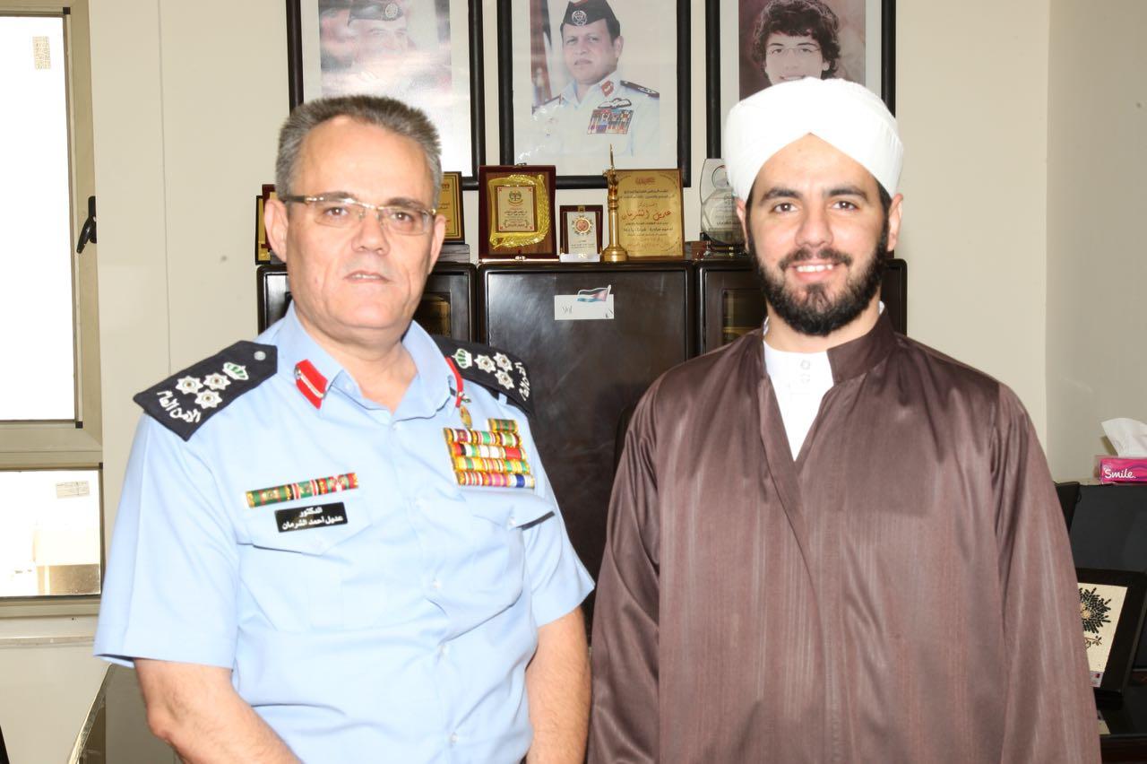 مدير الامن العام يعتذر للشيخ عزام الذي اثارت سرايا قضيته