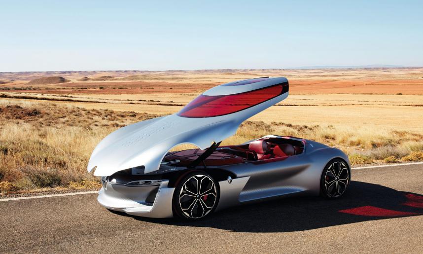 بالصور ..  شاهد أجمل سيارة اختبارية لعام 2016