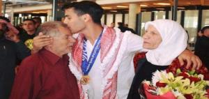 وفاة والد اللاعب أحمد أبو غوش