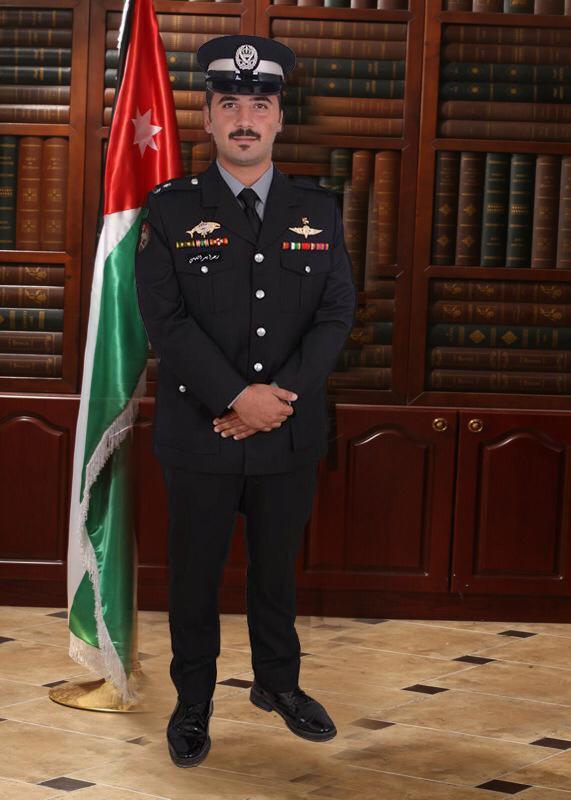 الملازم رعد ايسر القيسي مبارك التخريج