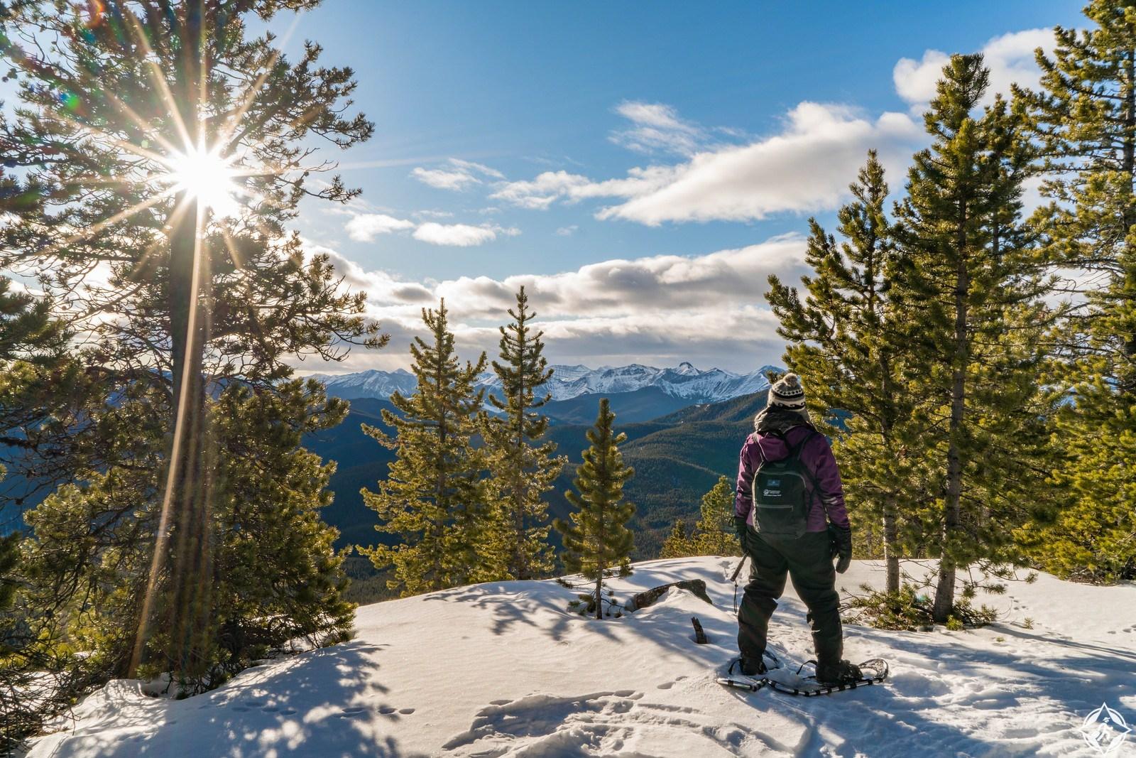 بالصور ..  اكتشف حديقة بانف الوطنية حسناء الطبيعة في كندا