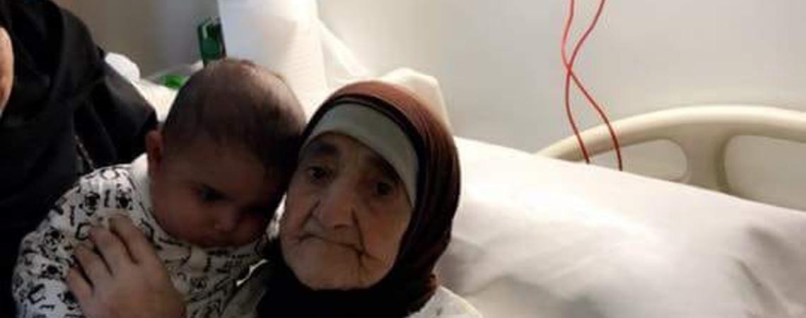عجلون : وفاة اكبر معمرة في عين جنا عن 108 سنوات