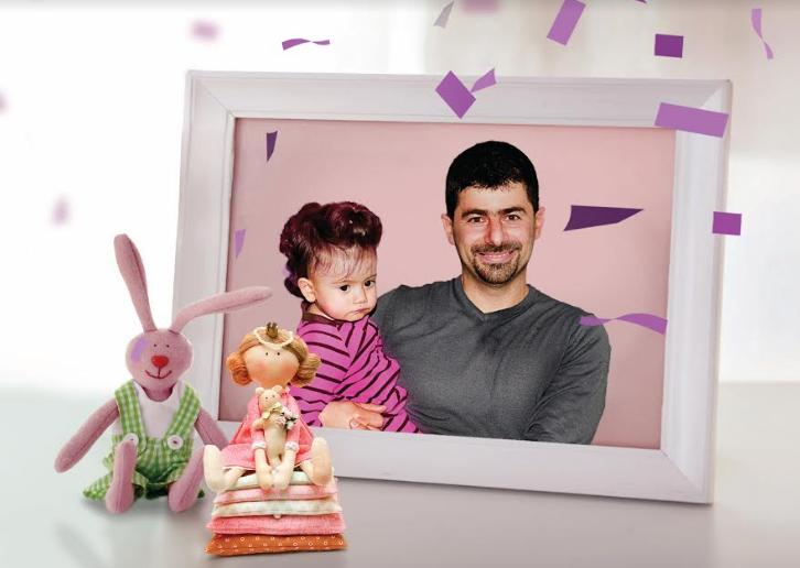 البنك الأهلي الأردني يتوّج الطفلة ماريا عبدالمسيح أصغر فائزة بفيلا وبربع مليون دينار مع حساب توفير قوشان الأهلي