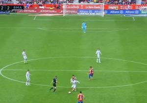بالفيديو .. هدف تاريخي يضيع من ايسكو بعد ان راوغ (6) لاعبين