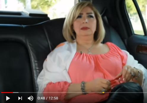 كاميرا خفية مع الفنانة فاديا خطاب