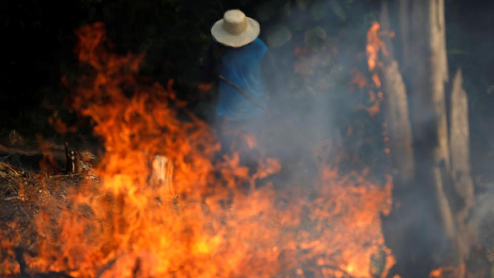 حرائق قياسية في غابات الأمازون ورئيس البرازيل يتهم المنظمات غير الحكومية