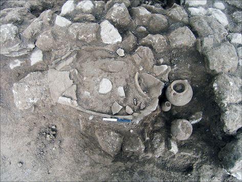 اكتشاف أقدم آثار كنعانية في فلسطين