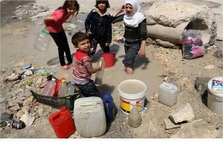 اليونيسف: العطش يقتل ابناء حلب
