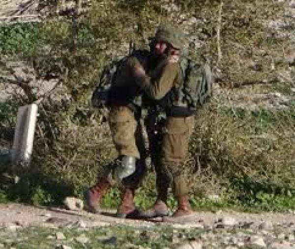 إصابة أحد جنود الاحتلال رشقاً بالحجارة في تقوع