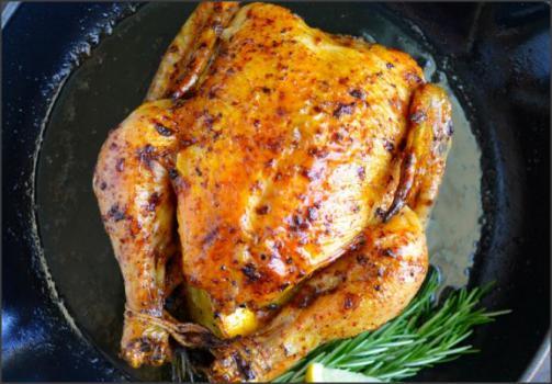 طريقة عمل طبخات بالدجاج بالثوم